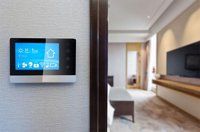 Regulador táctil hogar digital kouch Sevilla decoración