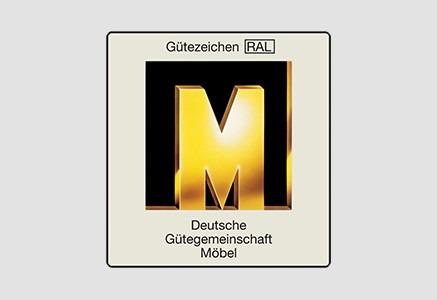 M de oro de la asociación alemana para la calidad de muebles de cocina