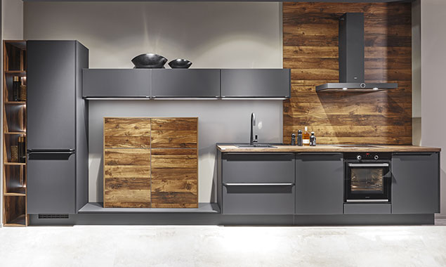 Combinación Industrial y madera