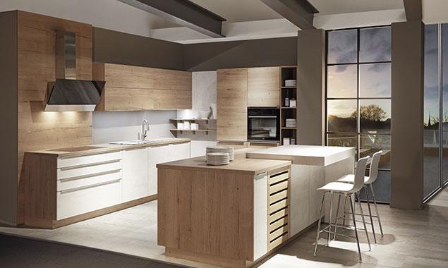 cocina moderna madera sevilla