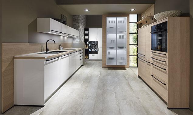 Cocina amplia minimalista sevilla