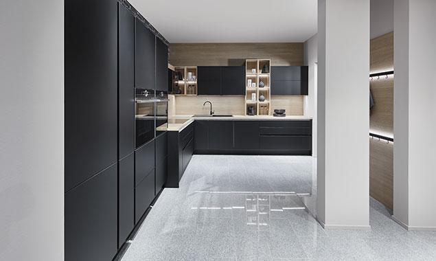 Cocina decoración negra