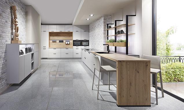 Cocina Limpia color brillante moderno