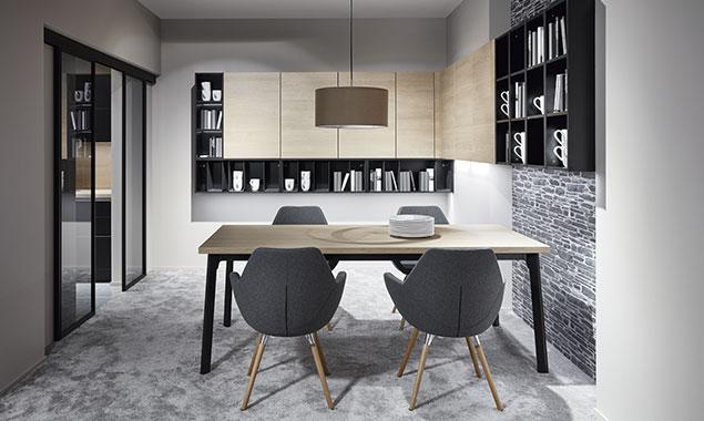 mesas sillas comedor cocina nordica