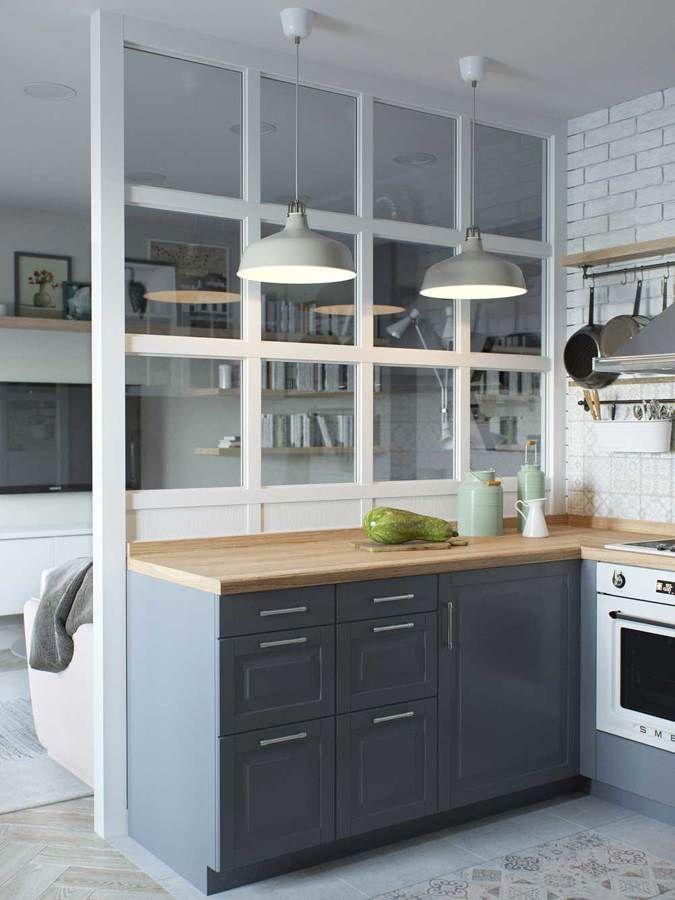 cocinas integradas en el salon cocina abierta al salon unidos