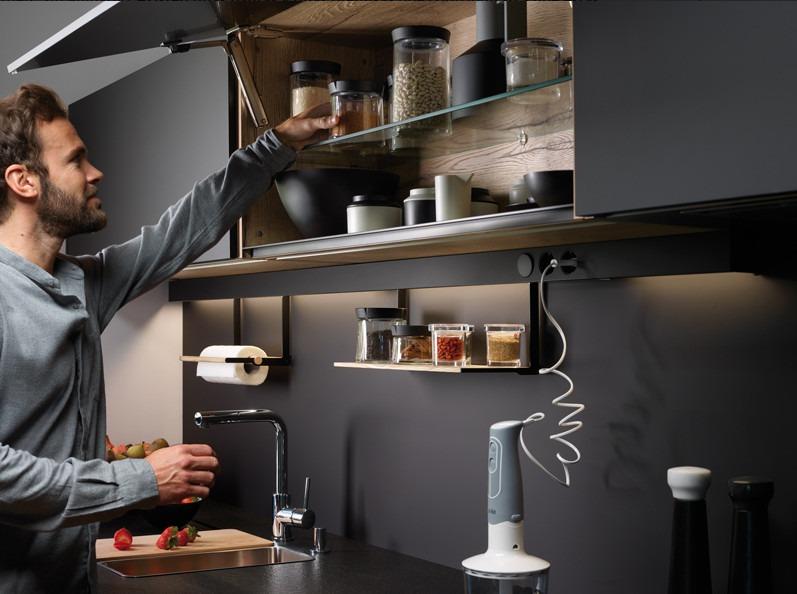 mantener la encimera de tu cocina simpare limpia y ordenada