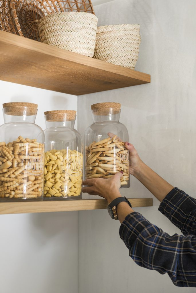 Tarros de cocina para mantenerla ordenada