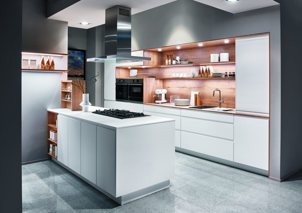 Zócalo cocina moderna